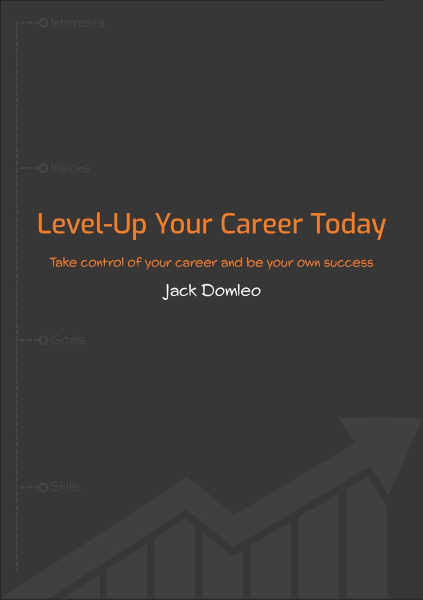 'Level-Up Your Career Today: Developer Edition' ebook by Jack Domleo - front cover.